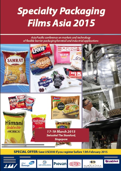 Specialty Packaging Films Asia 2015 - Conference Proceedings