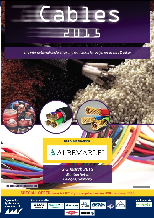 Cables 2015 - Conference Proceedings
