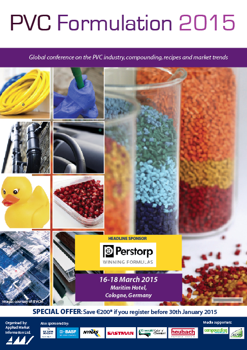 PVC Formulation 2015 - Conference Proceedings