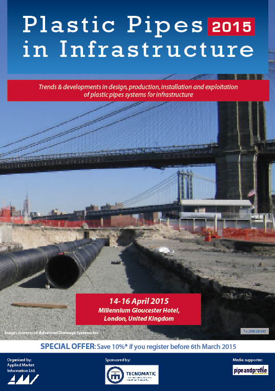 Plastic Pipes in Infrastructure 2015 - Conference Proceedings