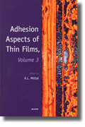 Adhesion Aspects of Thin Films, Vol 3