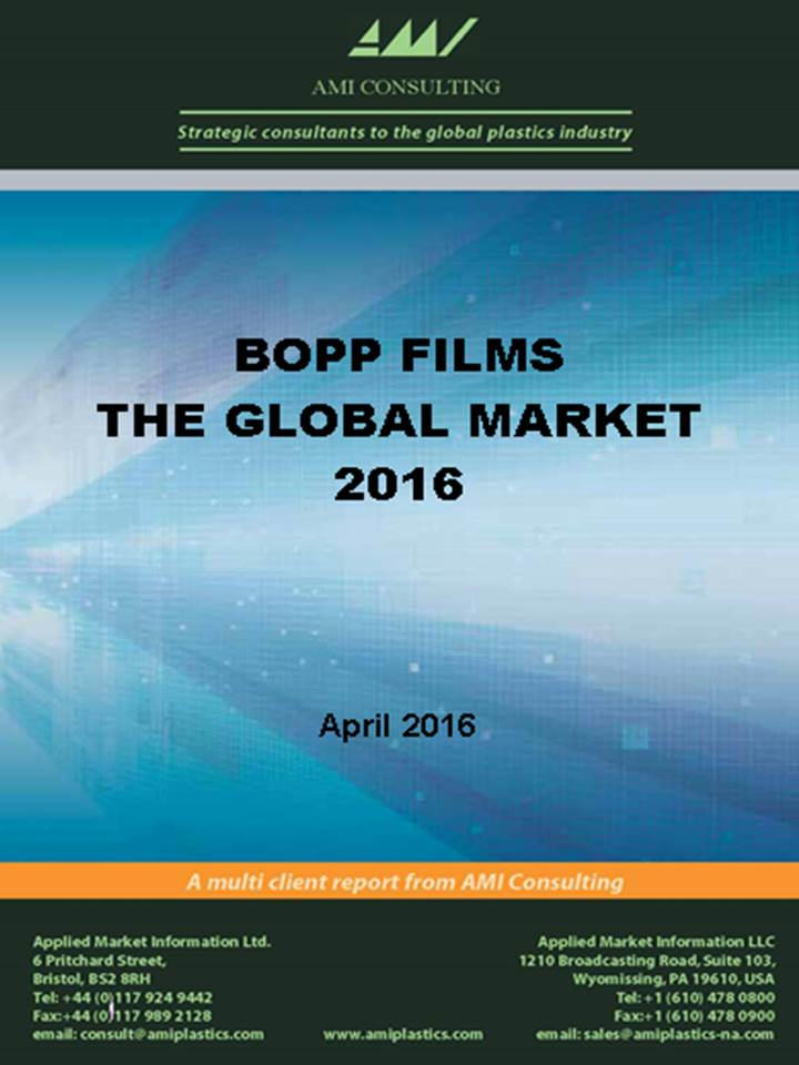 global bopp films market Pune, india, april 12, 2016 /prnewswire-ireach/ -- plastic films market (pe, bopp and bopet) 2016 analysis and forecasts to 2020 wiseguyreportscom analysts have predicted the global plastic films market to grow steadily at a cagr of more than 5% over the forecast period.