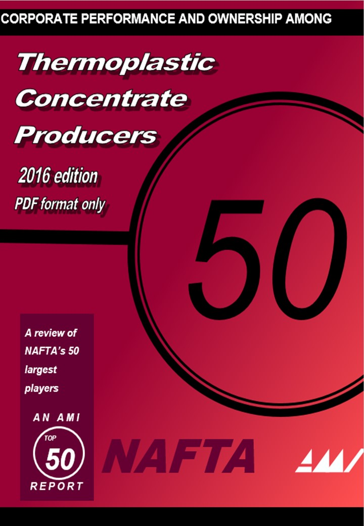 Thermoplastic Concentrate producers - A Review of NAFTA'S 50 largest Players