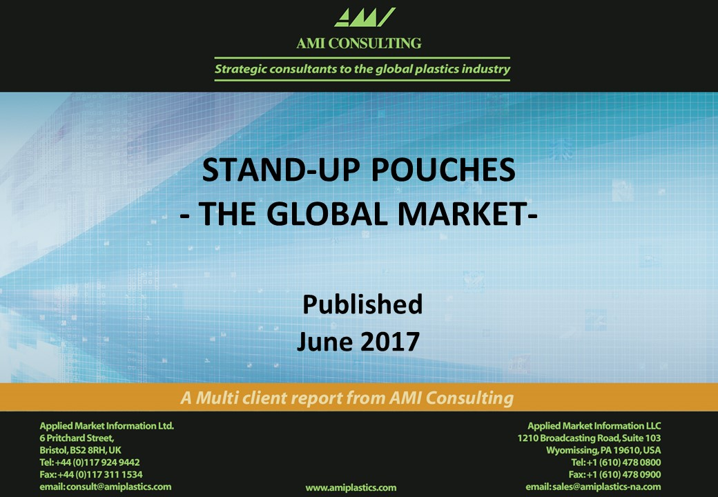 Stand-up pouches, the global market 2017