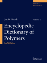 Encyclopedic Dictionary of Polymers, 2nd Edition