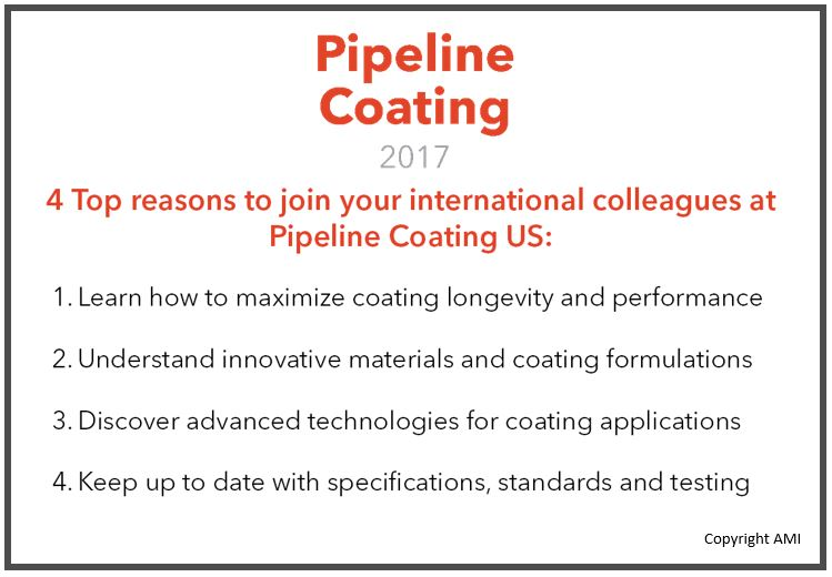 Join us at the only American conference focused on pipeline coating and protection this month!