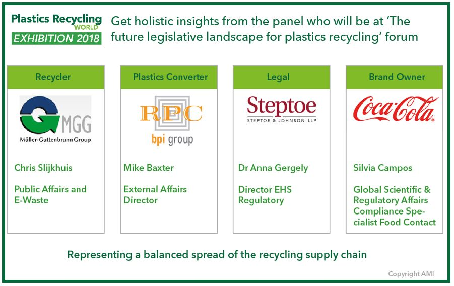 Speakers announced at Plastics Recycling World Exhibition!