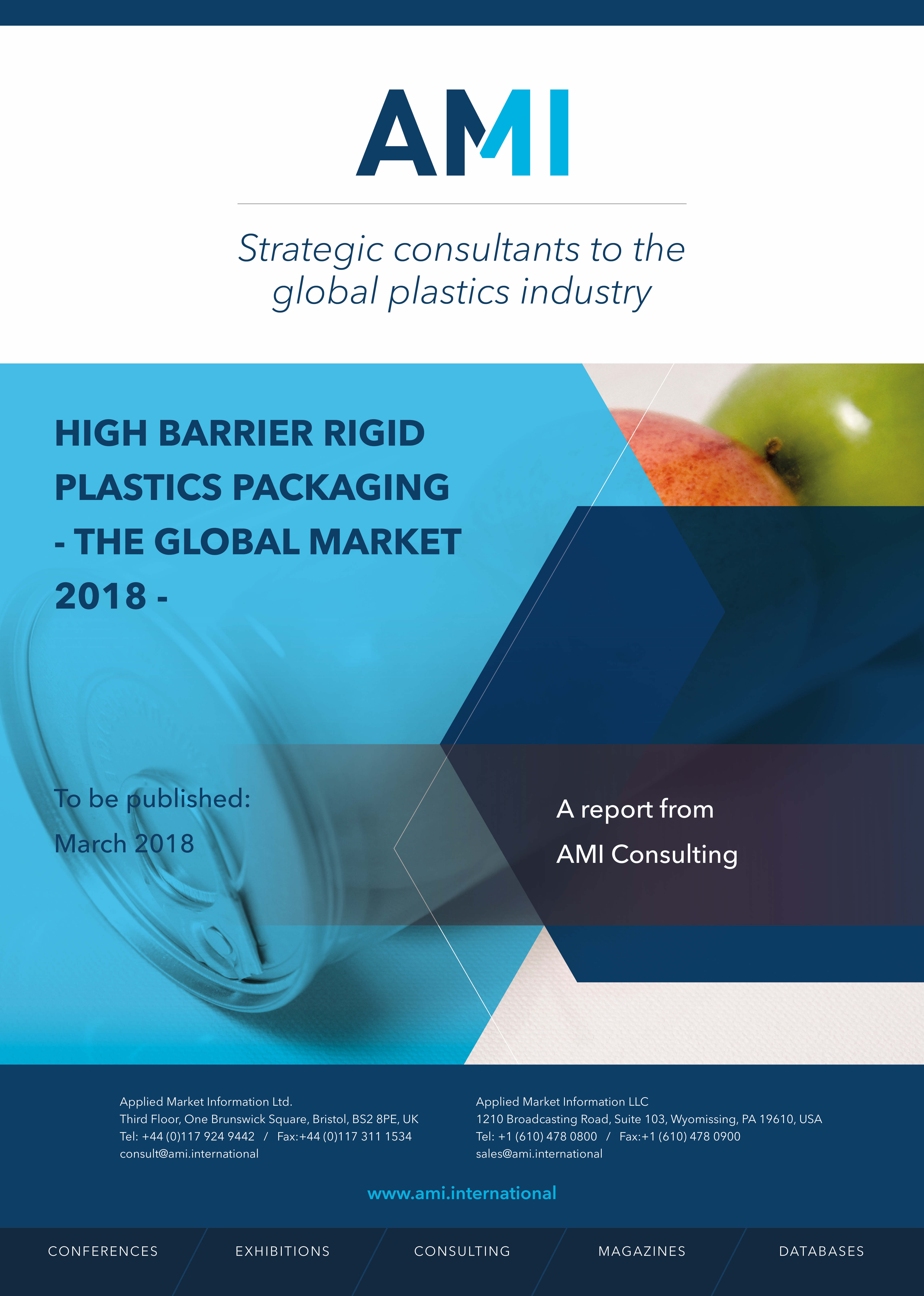 High barrier rigid packaging - the global market