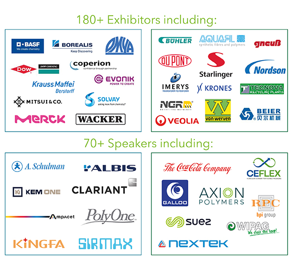130+ Exhibitors and 70+ Speakers