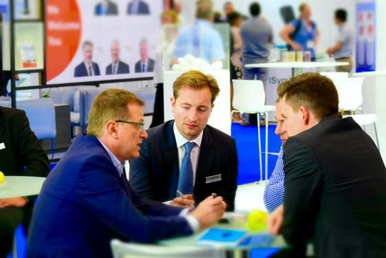 Business was booming at the Compounding World Expo and Plastics Recycling World Exhibition last week
