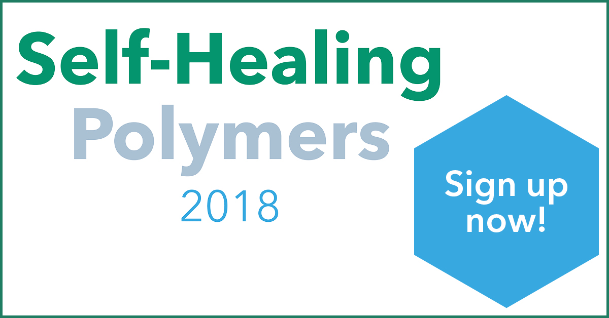 New conference! Self-Healing Polymers 8-9 October
