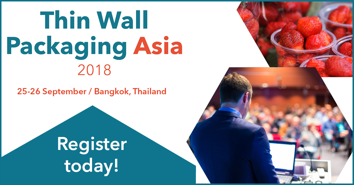 Join the debate at the Thin Wall Packaging conference this month