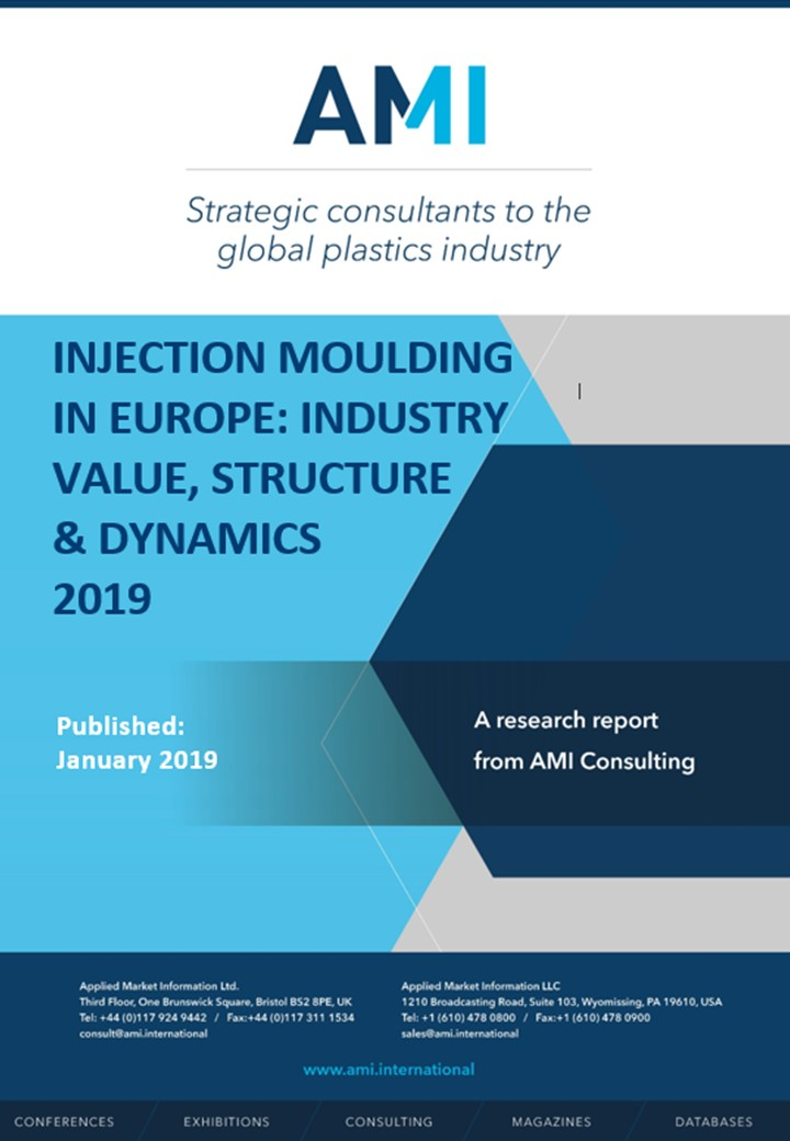 Injection moulding in Europe: Industry value, structure & dynamics 2019