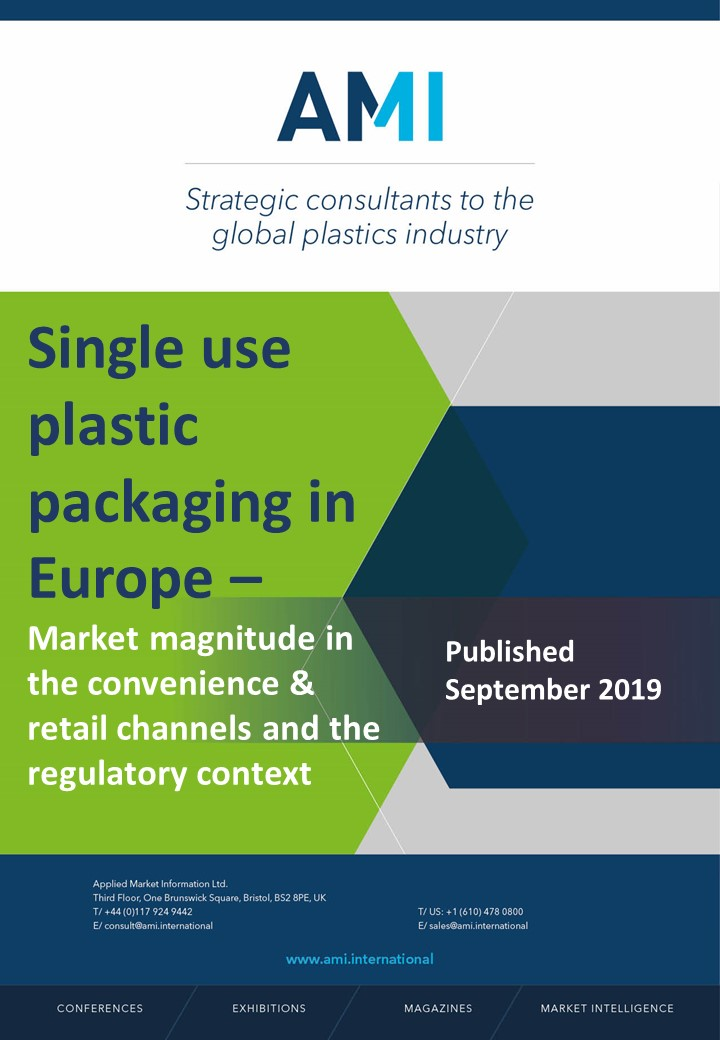 Single use plastic packaging in Europe - Market magnitude in the convenience & retail channels and the regulatory context