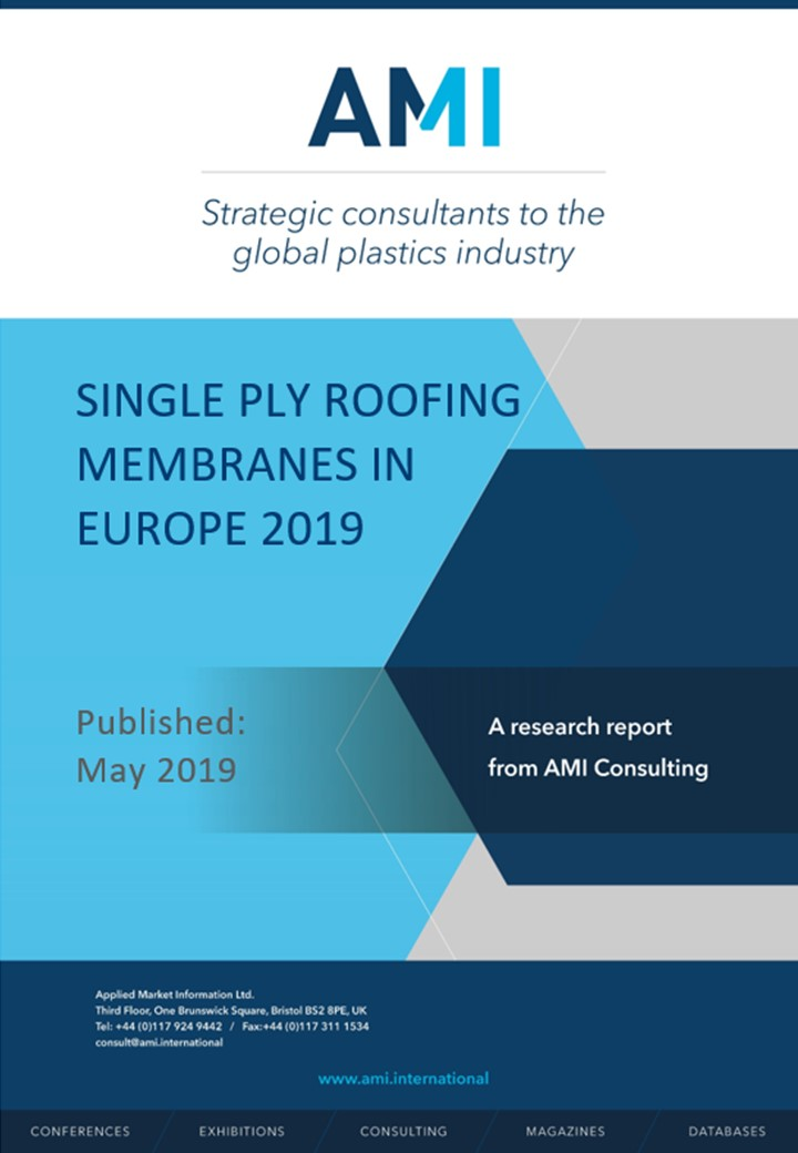 Single ply roofing membranes in Europe