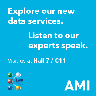 AMI to launch new data services offering at K 2019