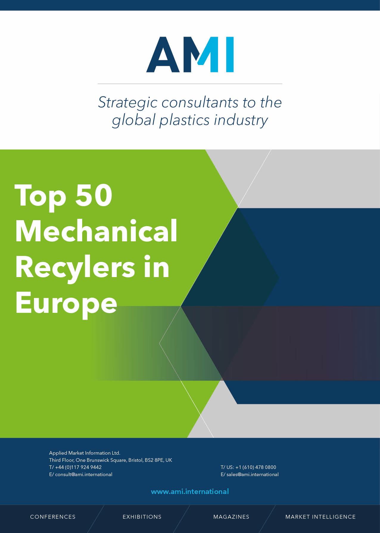 Top 50 Mechanical Recyclers in Europe 2020