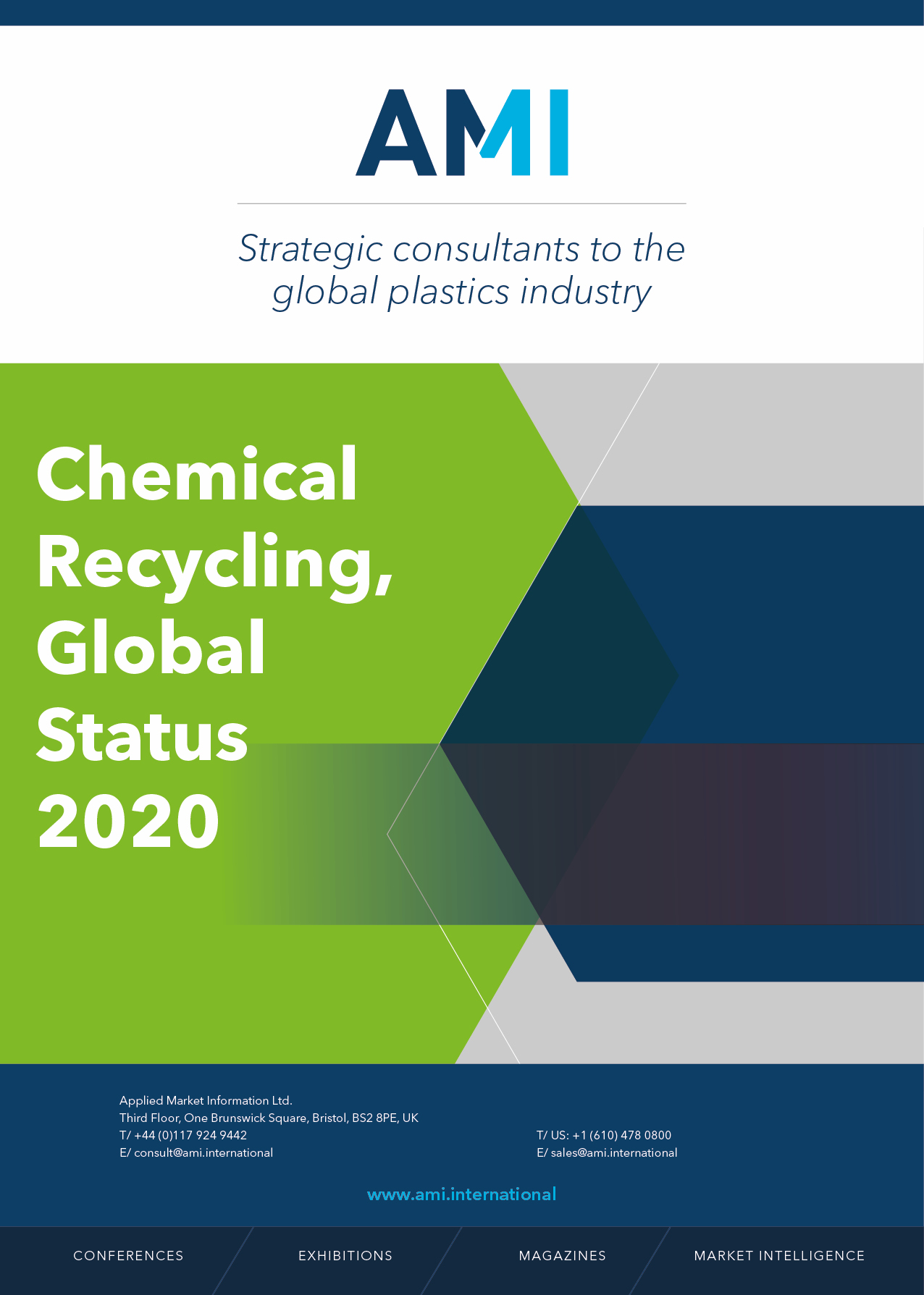 Chemical Recycling, Global Status 2020