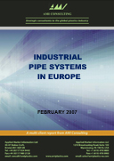 Industrial pipe systems in Europe
