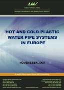 Plastic hot and cold water pipe systems in Europe