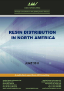Resin distribution in North America